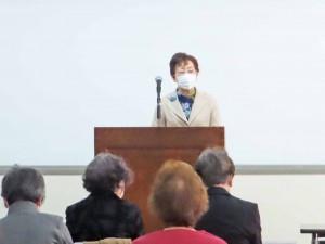 小柳華信副理事長:開会の言葉